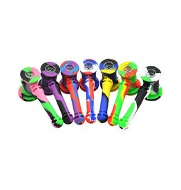 Silicone water bubbler pipe w/ tools