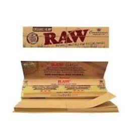 RAW RAW ORGANIC HEMP CONNOISSEUR  PAPER WITH TIPS