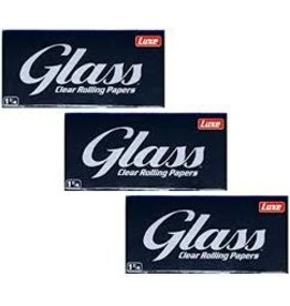 GLASS GLASS CLEAR TRANSPARENT ROLLING PAPER