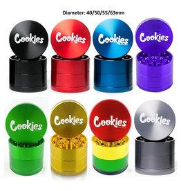 COOKIES COOKIES 50MM BLACK GRINDER
