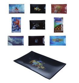 DEEZ NUTZ DN TEMPERED SHATTER RESISTANT GLASS TRAY