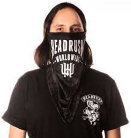 HEADRUSH HEADRUSH BANDANA MASK