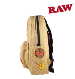 RAW RAW BURLAP SMELL PROOF BACKPACK