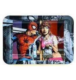 SMOK SPIDER MAN STEEL LARGE ROLLING TRAY