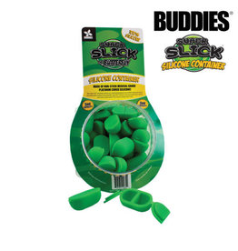 SLICK BUDDIES SLICK TUB 3ML BUTTERFLY SILICONE CONTAINER