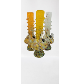 CRYSTAL GLASS ROUND BASE WATER BONG(MA-1227)