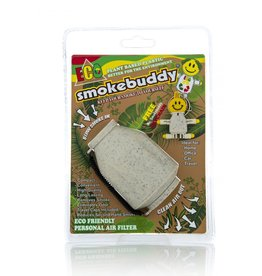 SMOKEBUDDY SMOKEBUDDY PERSONAL AIR FILTER –ECO WHITE