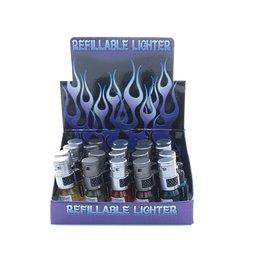 REFILLABLE TORCH LIGHTER POCKET ROCKET (93064-3T)