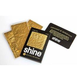 SHINE SHINE 24K GOLD 1 1/4 ROLLING PAPER