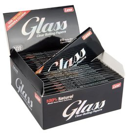 GLASS GLASS CLEAR ROLLING PAPER KING SIZE 50 TRANSPARENT