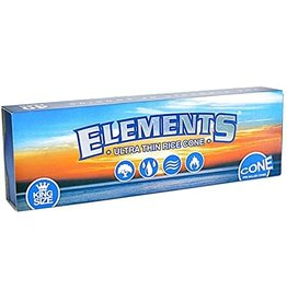 ELEMENTS ELEMENTS ULTRA THIN RICE CONE KING SIZE