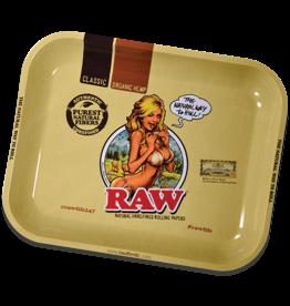 RAW RAW GIRL TRAY LARGE