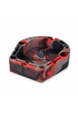 OOZE Banger Silicone Ashtray - RED / GREY /BLACK