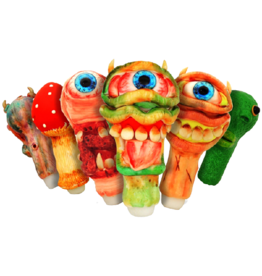 HS-2191 ONE EYED MONSTERS HAND PIPE 6''