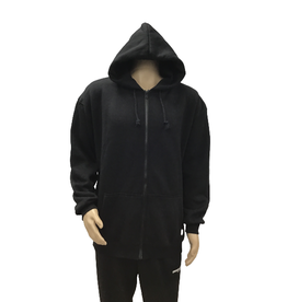 THE ONLY ONE THE ONLY ONE ZIP UP  BLACK HOODIE