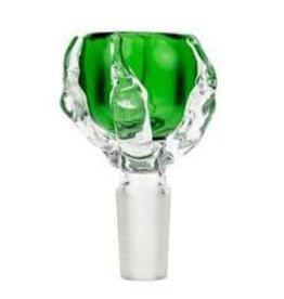 DIAMOND DIAMOND CLAW GLASS BOWL 14MM MALE