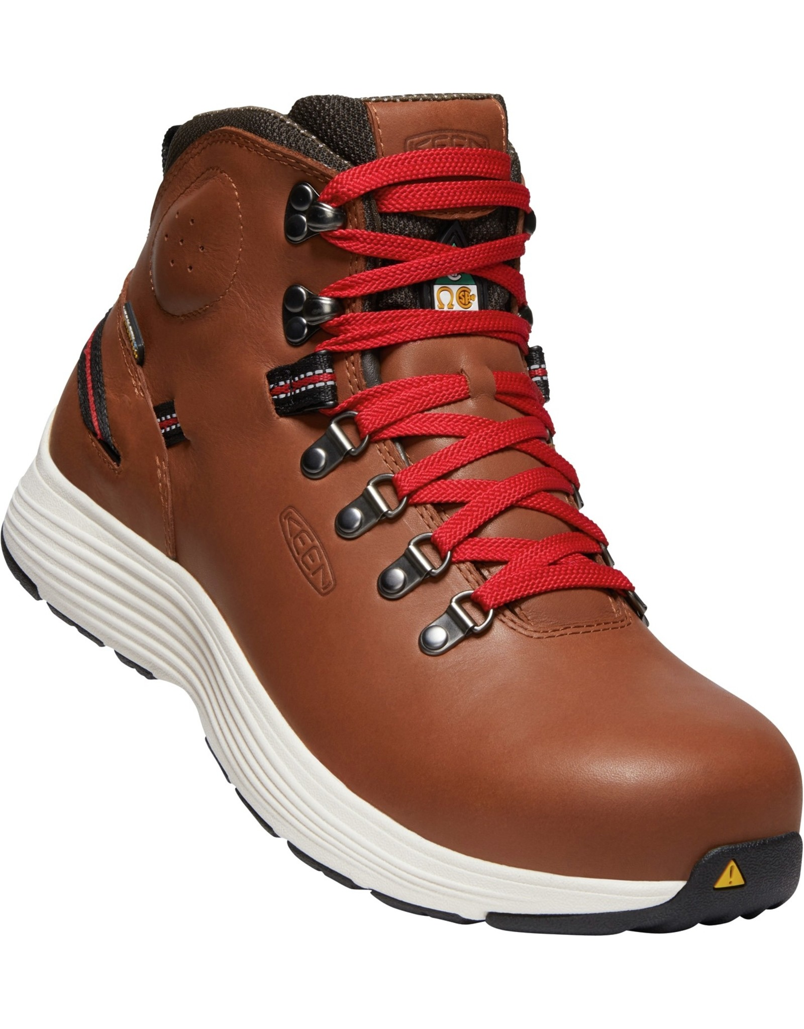 "KEEN KEEN CSA M-Manchester 6"" WP - Rustic Brown / Cascade Brown -"