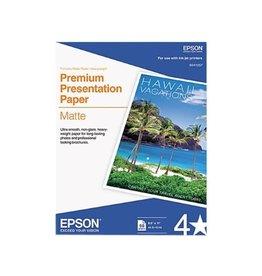 Epson PAPER-EPSON MATTE PHOTO, 8.5X11 44LB. 50/PACK
