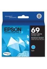 Epson INKJET CARTRIDGE-EPSON #69 CYAN