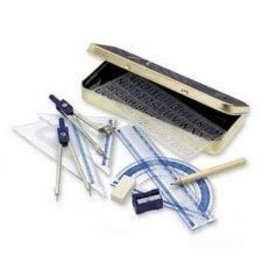 STAEDTLER MATH SET-10 PIECE XCELLENCE, METAL BOX