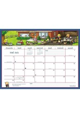 Hilroy CALENDAR-WALL 16-MONTH 18X13-1/2 MOTHERWORD FRENCH  2021