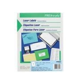 Avery LABELS-ADDRESS PRES-A-PLY 8-1/2X11 100/BOX