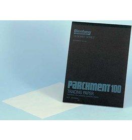 Bienfang TRACING PAPER PAD-PARCHMENT 11X14, BIENFANG #100, 50 SHT
