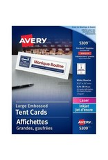 Avery TENT CARDS-LARGE 3-1/2X11 WHITE 50/BOX