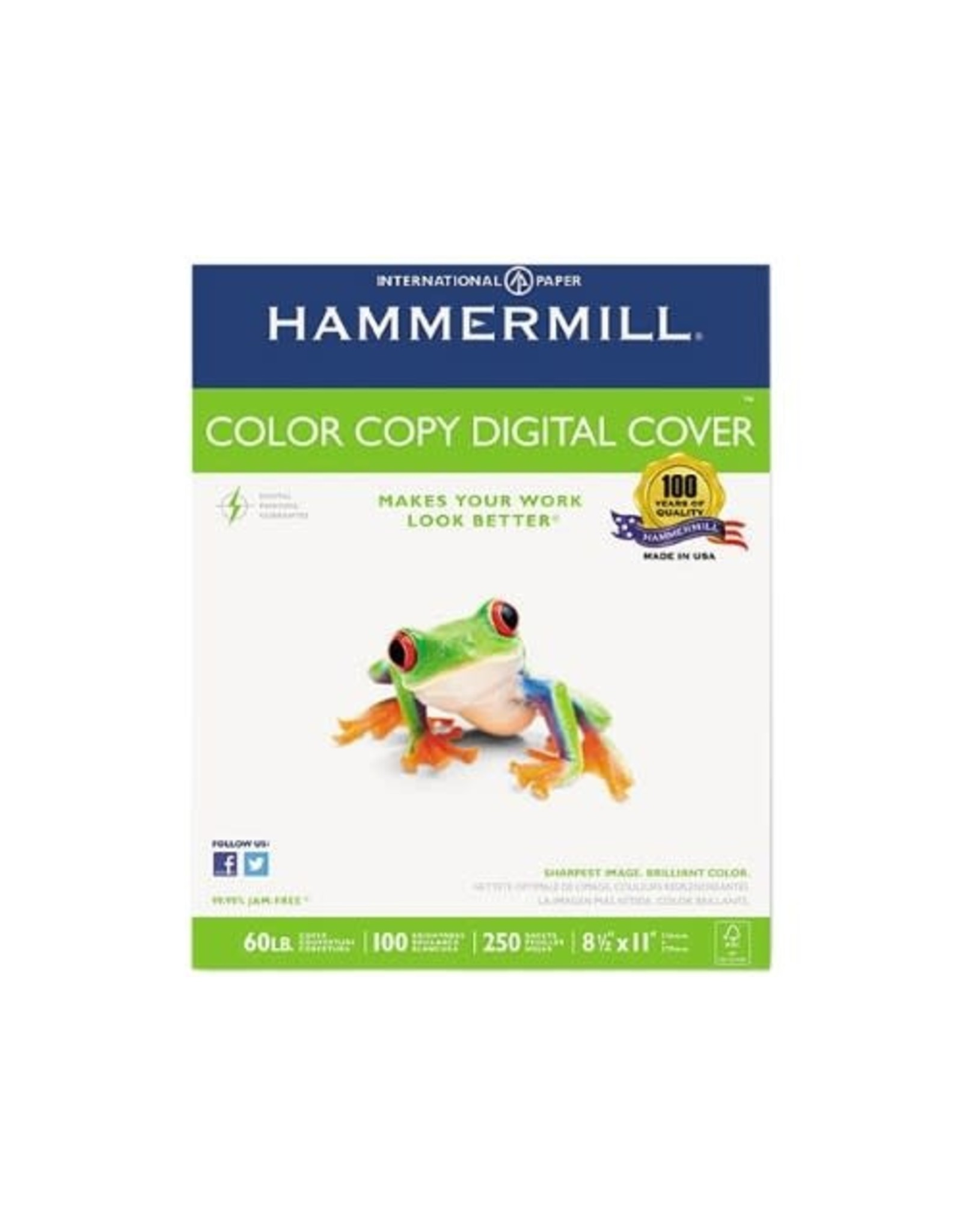 Spicers COVER STOCK-COLOR COPY DIGITAL LETTER 60LB 100 BRIGHT
