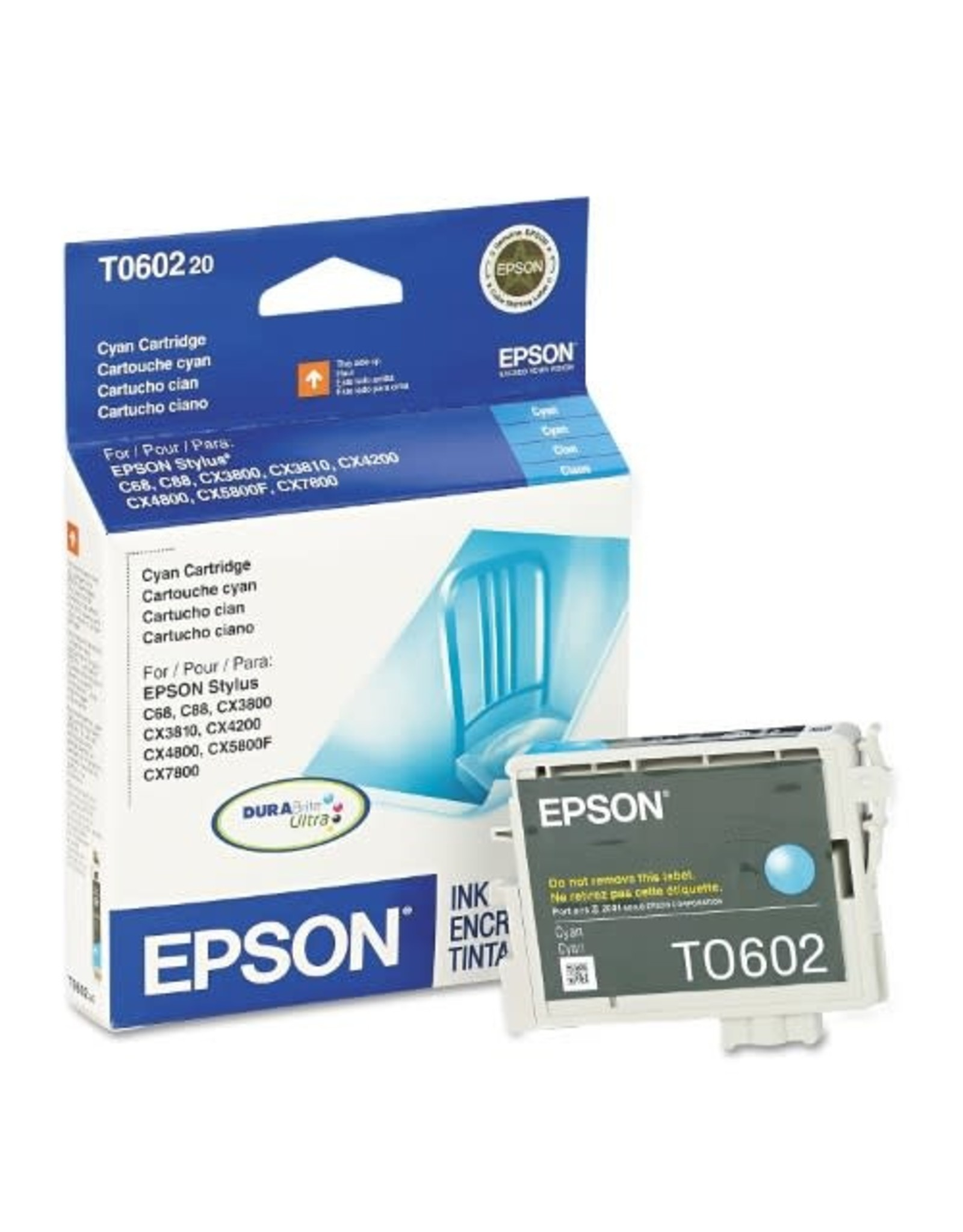 Epson INKJET CARTRIDGE-EPSON #60 CYAN