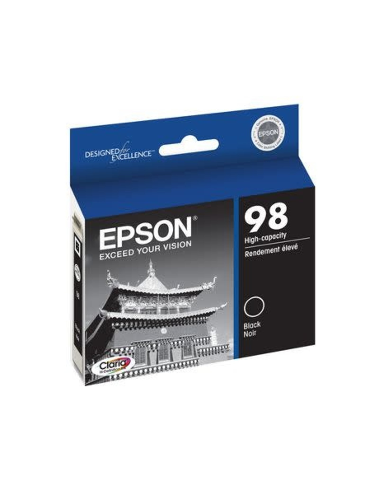 INKJET CARTRIDGE-EPSON #98 BLACK HIGH YIELD