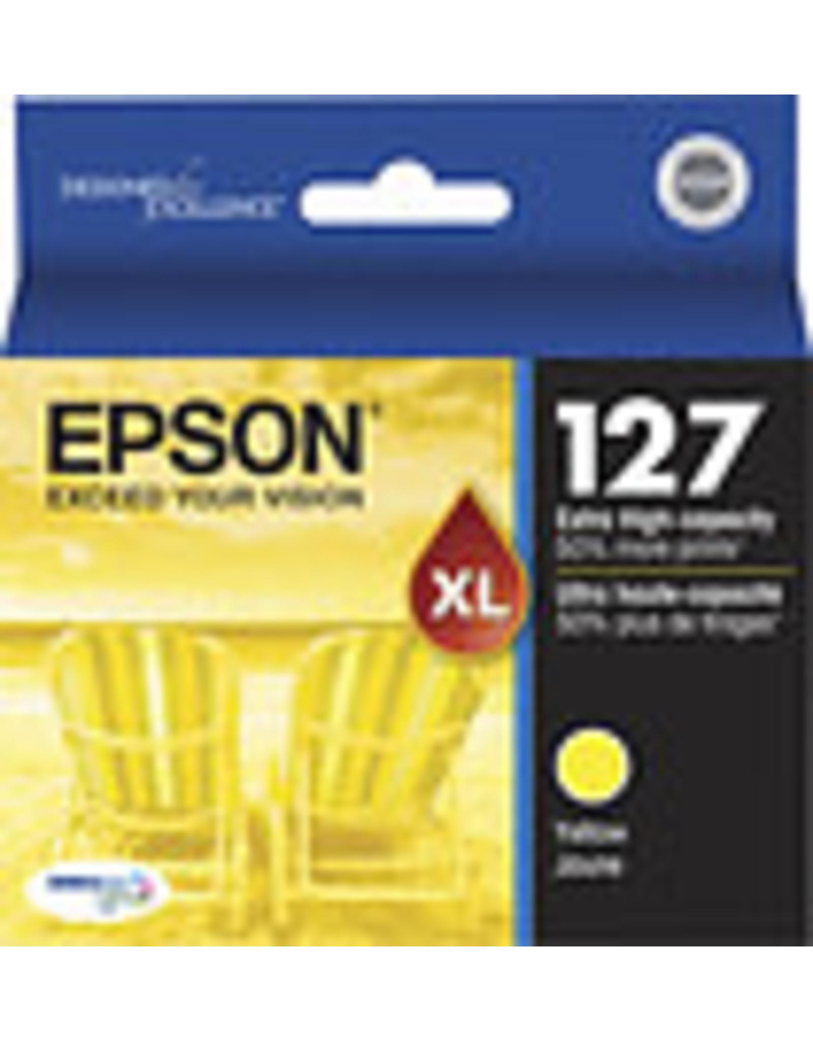 Epson INKJET CARTRIDGE-EPSON #127XL YELLOW EXTRA HIGH YIELD