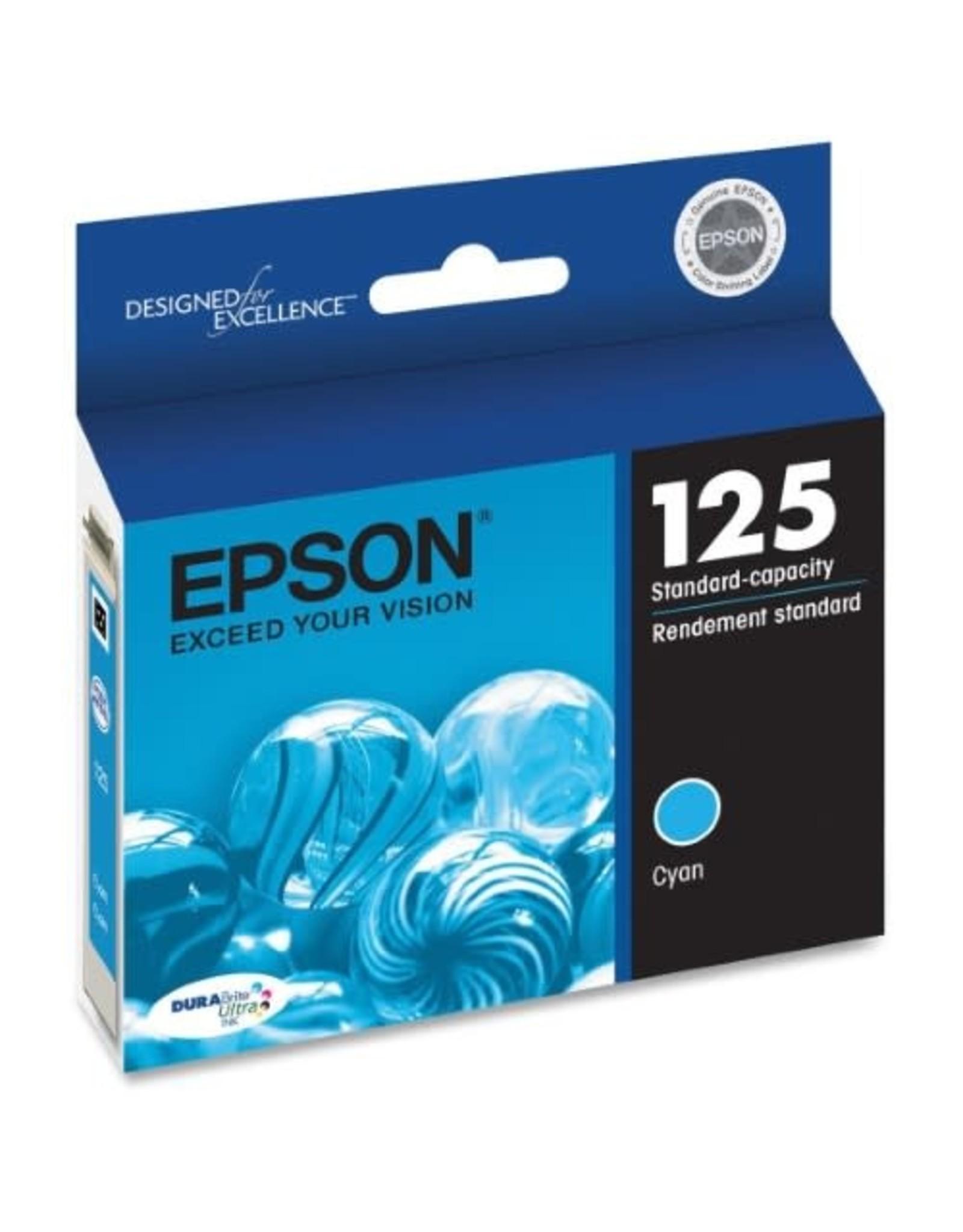 Epson INKJET CARTRIDGE-EPSON #125 CYAN