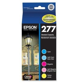Epson Epson 277, Color Ink Cartridges, C/M/Y/LC/LM 5-Pack