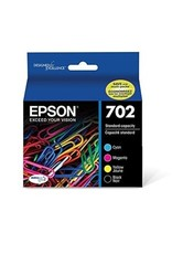 Epson INKJET CARTRIDGE-EPSON #702 BLACK/COLOURS COMBO PACK