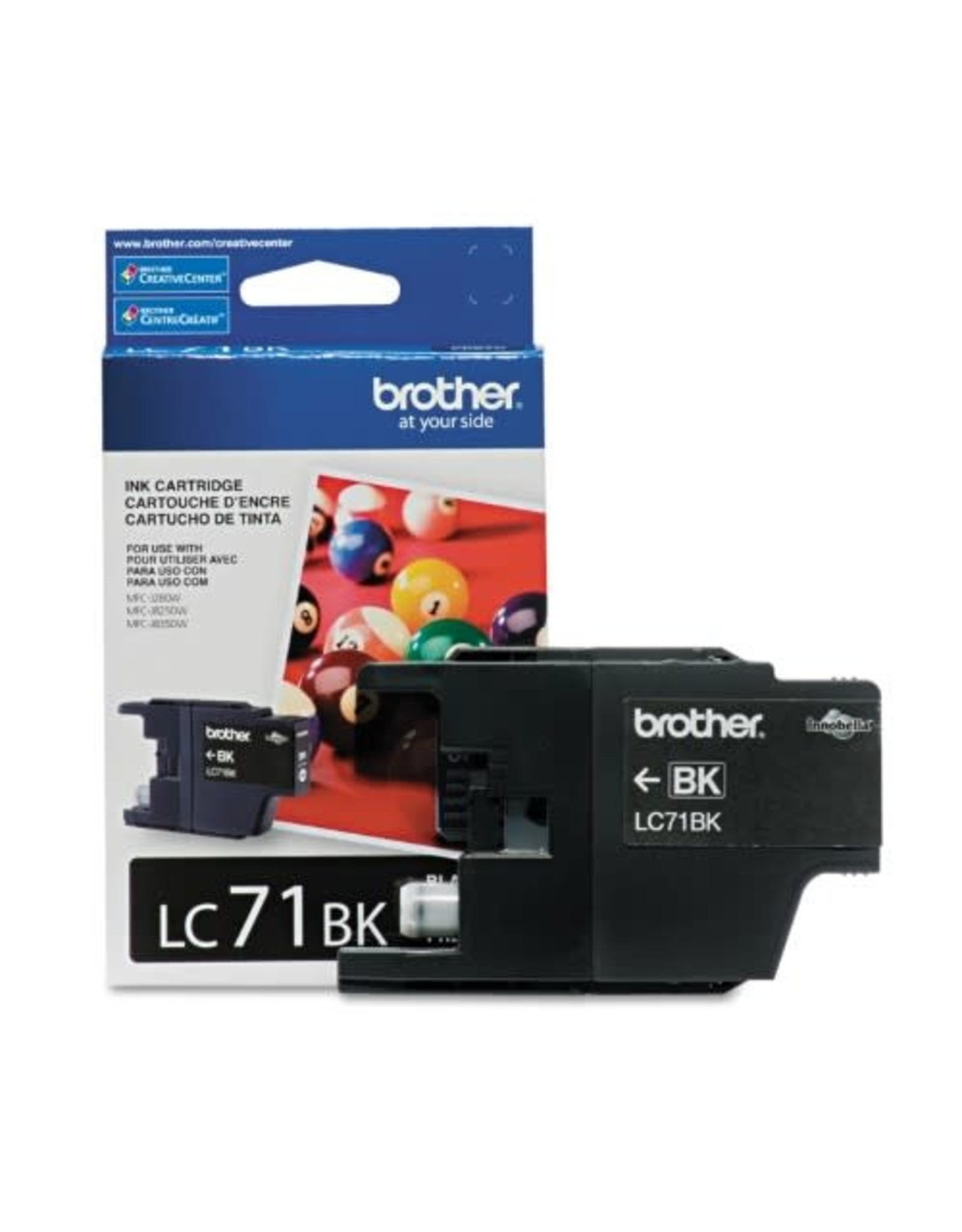 Brother INKJET CARTRIDGE-BROTHER BLACK STANDARD YIELD