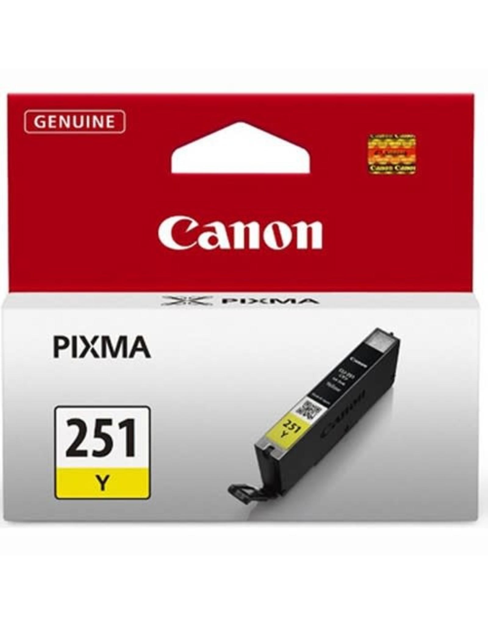 SYNNEX INK TANK-CANON #CLI251Y YELLOW -6516B001