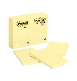 Post-it NOTES-POST-IT, 4X6 PLAIN YELLOW