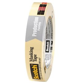 3M TAPE-MASKING, GENERAL PURPOSE 24MMX55M