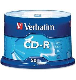Verbatim CD-R 50-PIECE SPINDLE 52X 700MB
