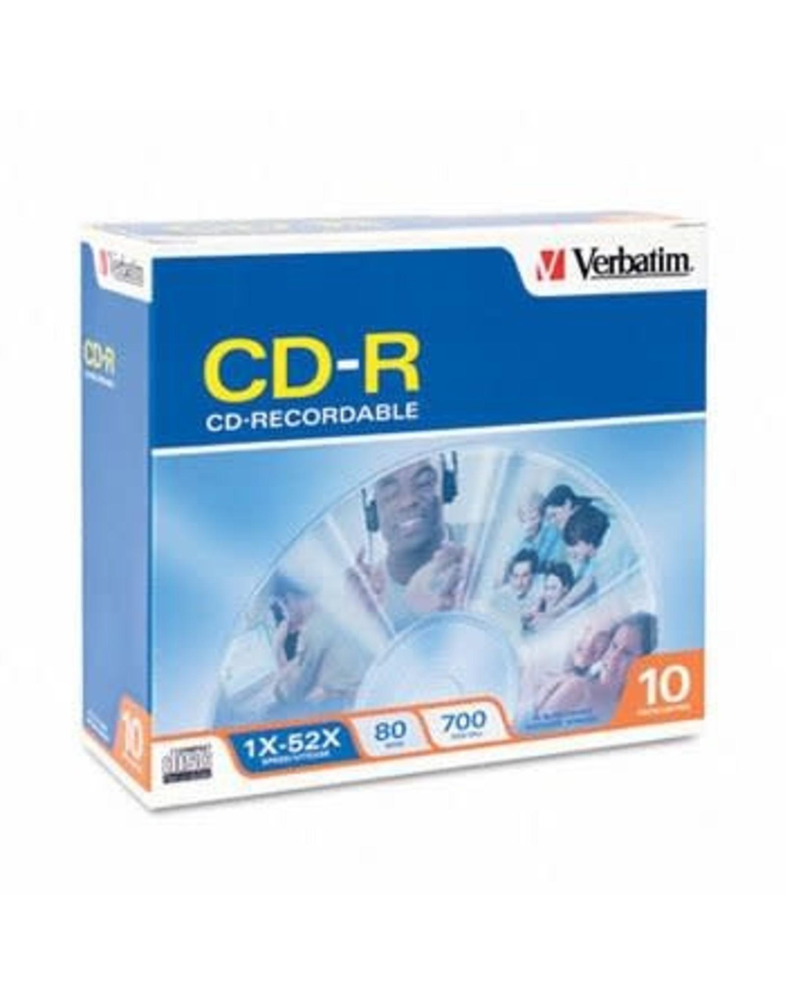 Verbatim CD-R 10-PACK 700MB 52X 80MIN.