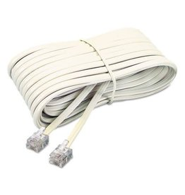 Artistic Products TELEPHONE CORD-WALL TO PHONE 25' IVORY