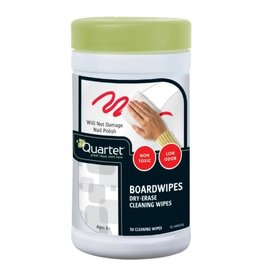 ACCO Brands CLEANER-WHITEBOARD,QUARTET BOARDWIPES,70 NON-TOXIC WIPES