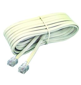 Artistic Products TELEPHONE CORD-WALL TO PHONE 7' IVORY