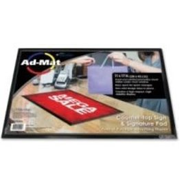 Artistic Products COUNTER MAT-ADMAT 11''X17''  BLACK/CLEAR