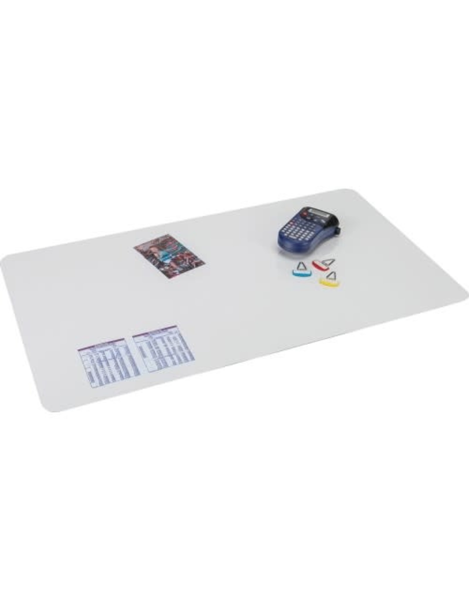 """Artistic Products DESK PAD-KRYSTAL VIEW 20""""X36"""" CLEAR, WITH MICROBAN"""