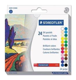 STAEDTLER PASTELS-OIL STAEDTLER, 24 COLOURS