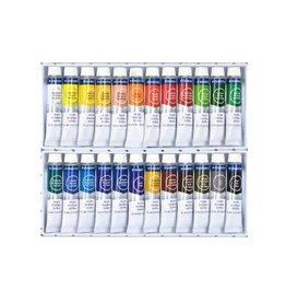 STAEDTLER PAINT SET-ACRYLIC, STAEDTLER, 24 12ML. TUBES