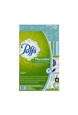 Procter & Gamble FACIAL TISSUE-2-PLY PUFFS PLUS LOTION 124 SHEETS, 4 BX/PK