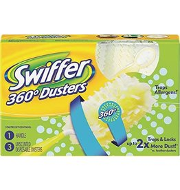 Procter & Gamble SWIFFER DUSTER 360 KIT-1 HANDLE + 2 DUSTERS (92927)